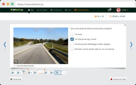 Körkort Test Online